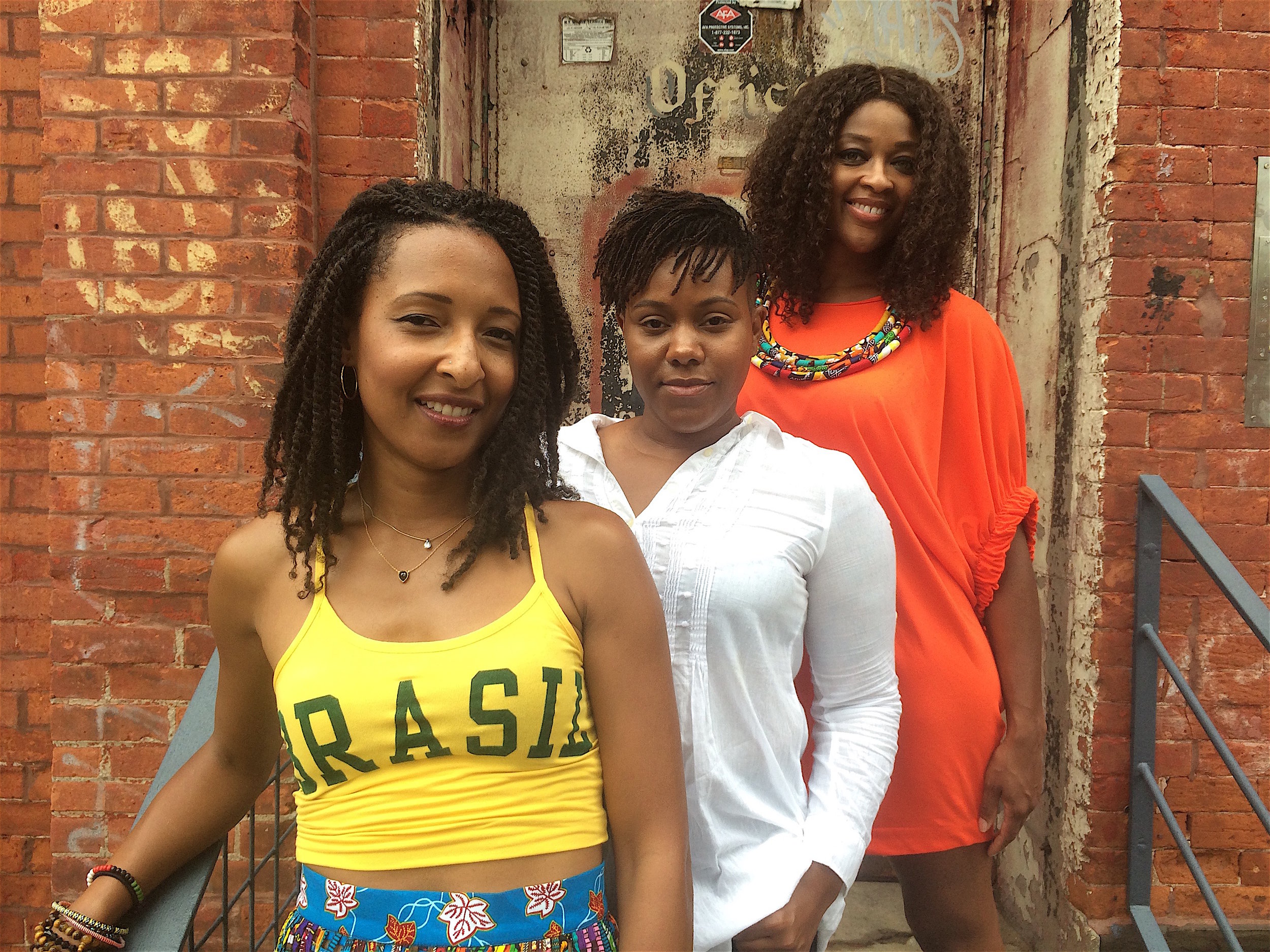 ABOUT - TEXTURES is a collaborative project created by three black girls from the so-called