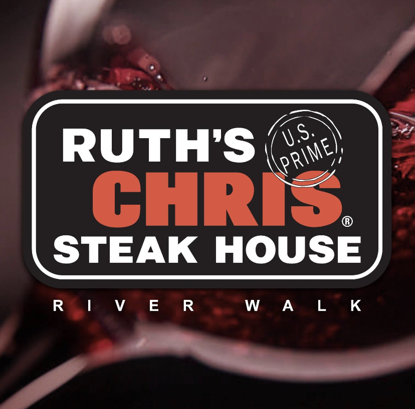 Ruth's Chris Steak House – Riverwalk ,  Lunch (daily) & Dinner   600 E Market St, San Antonio, 78205  P 210-227-8847    Ruth's Chris' Dinner Menu      Make a Reservation on OpenTable