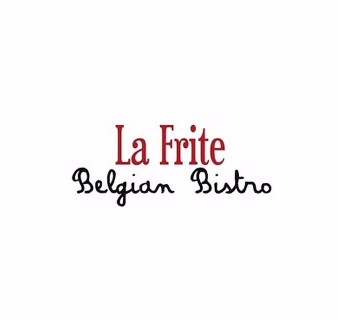 La Frite Belgian Bistro , Lunch & Dinner  728 S Alamo St, San Antonio, 78209  P 210-224-7555    La Frite's Lunch Menu      Make a Reservation on OpenTable