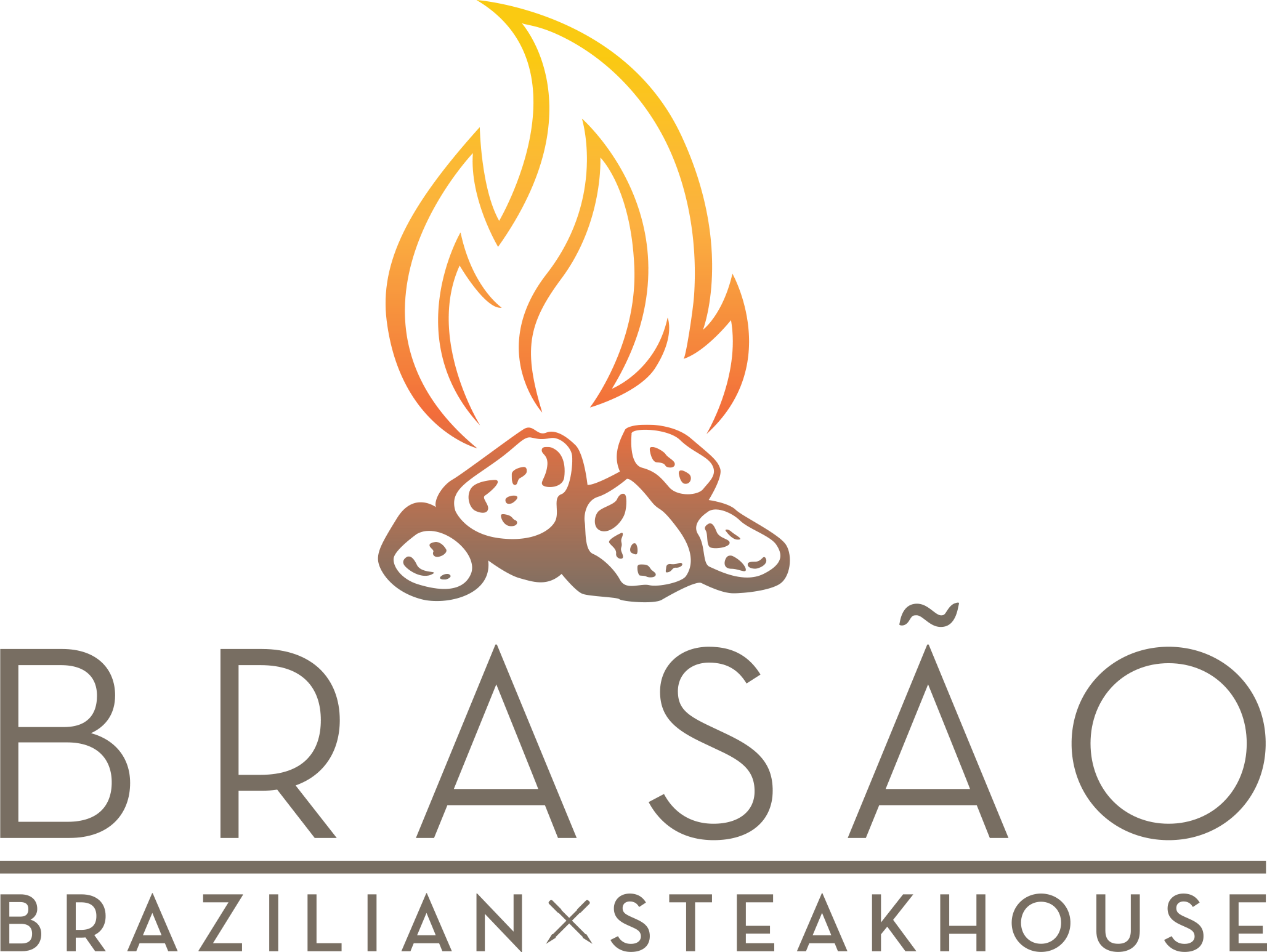 Brasao Brazilian Steakhouse , Dinner only  19210 W, I-10, San Antonio, 78257  P 210-233-6868    Brasao's Dinner Menu    (Available after 5pm M-F; after 3:30pm on Saturday; after 1pm on Sunday)    Make a Reservation on OpenTable