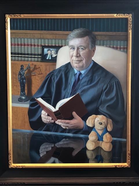 Judge Mellon portrait