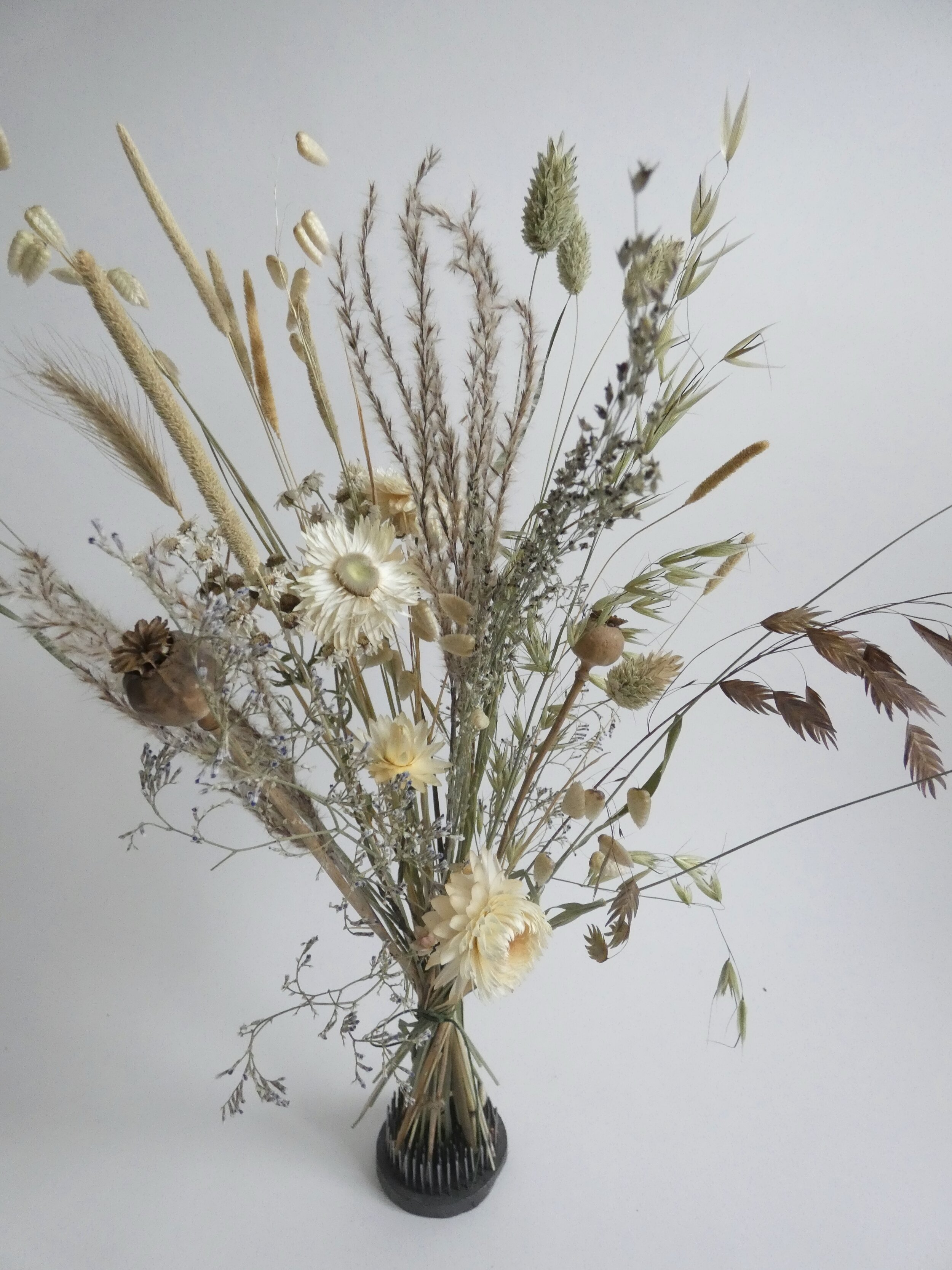 Neutral Dried Flower Bouquet Me My Bloomers