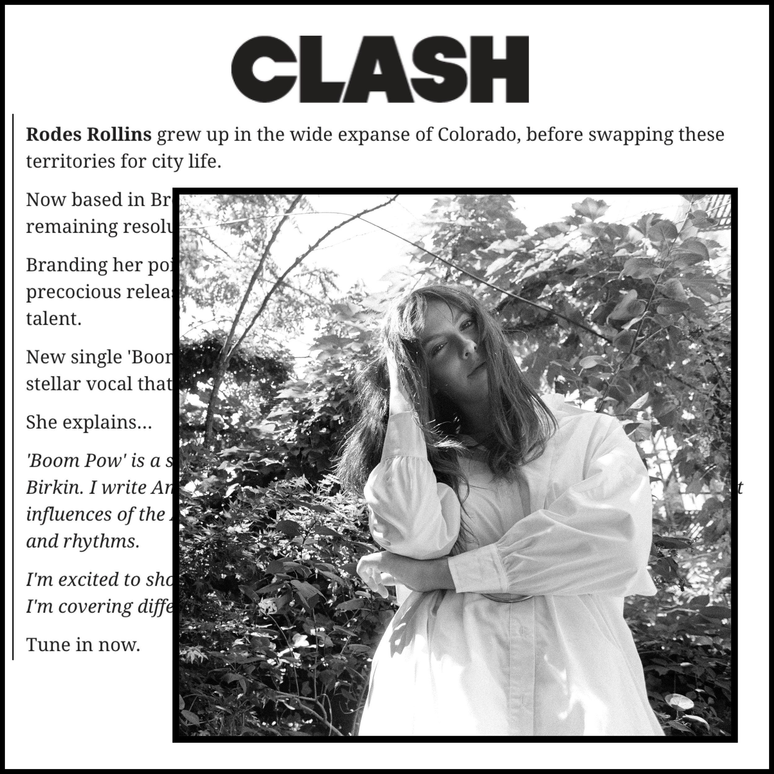 Link -  CLASH Magazine