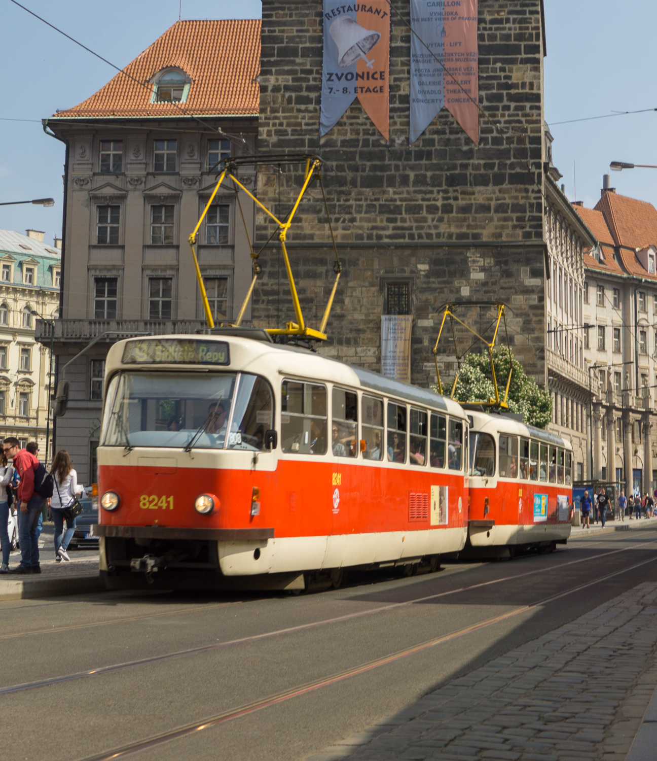 The best trams in the whole world. Hopefully I can get one in focus one day.