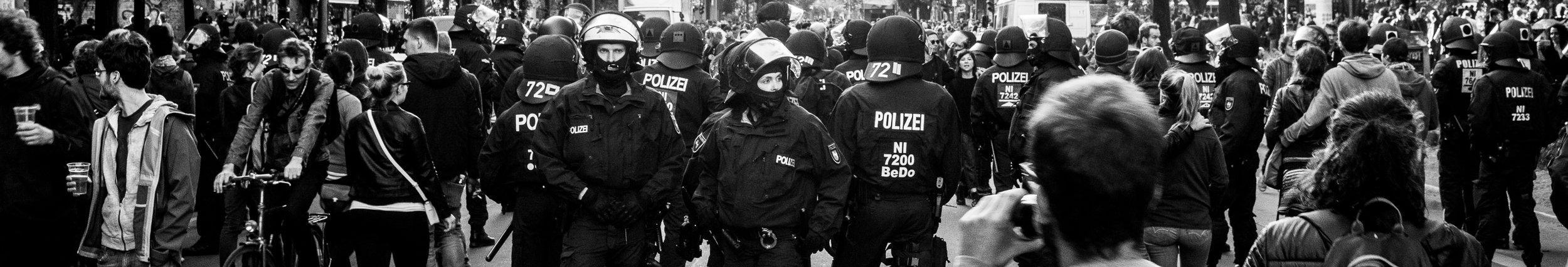 May Day, Kreuzberg, Berlin, 2018