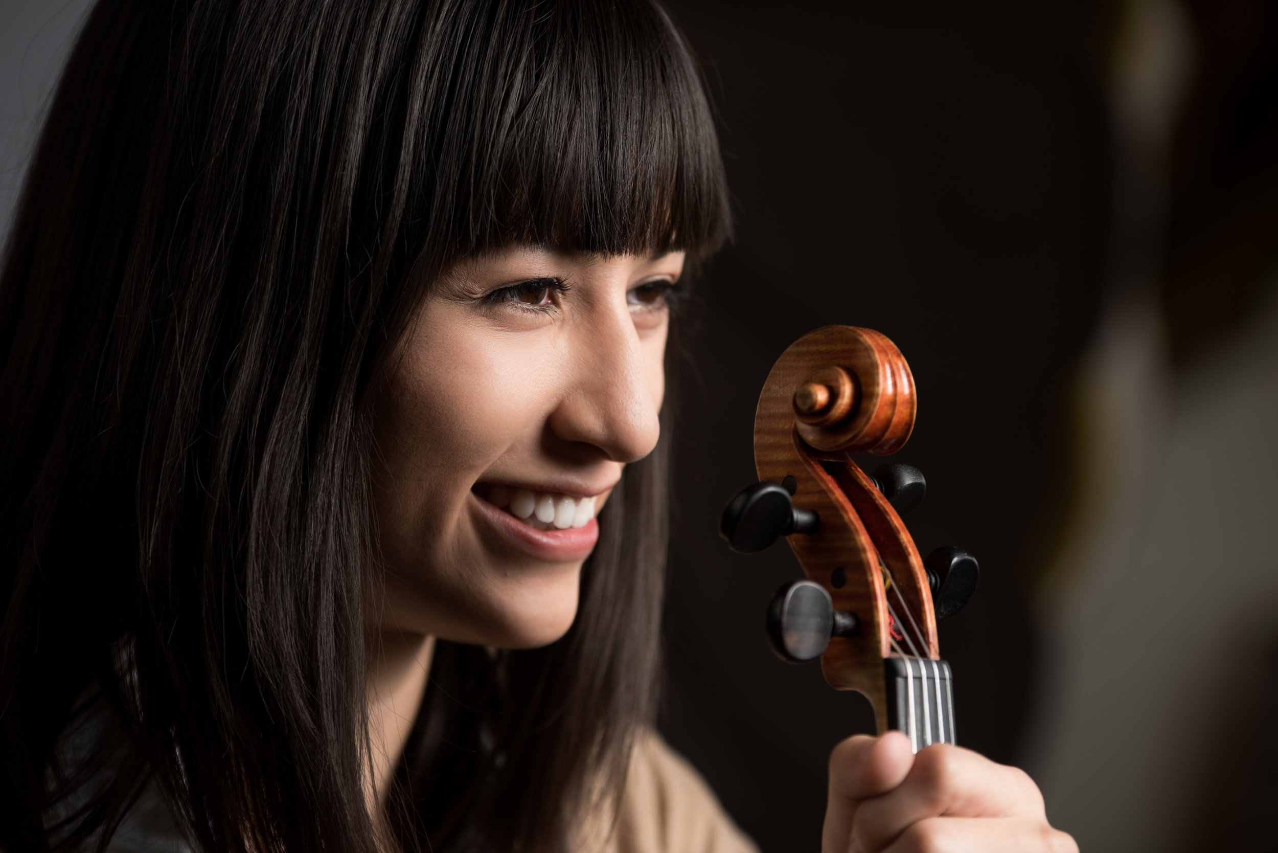 A Chicago native, violinist/violist  Lena Vidulich  is a bold and multi-faceted performer. She is a committed supporter of new music, and has worked with composers including Nina C. Young and Reiko Füting, among others. She is the co-founder and executive director of Amalgama and is a member of earspace (Raleigh, NC). In 2017, Lena was a member of the Spoleto Festival USA Orchestra and the Lucerne Festival Academy. She holds a Bachelor of Music in violin performance, with a minor in French, from Northwestern University, where she was a student of Gerardo Ribeiro. Her education also included studies with Alexis Galpérine at the Conservatoire national supérieur de musique de Paris and Université de Paris 8 – Vincennes-St Denis. Lena is recently received her master's degree in contemporary violin performance at the Manhattan School of Music, where she is a recipient of the President's Award in the studio of Curtis Macomber.