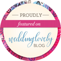Featured on WeddingLovely