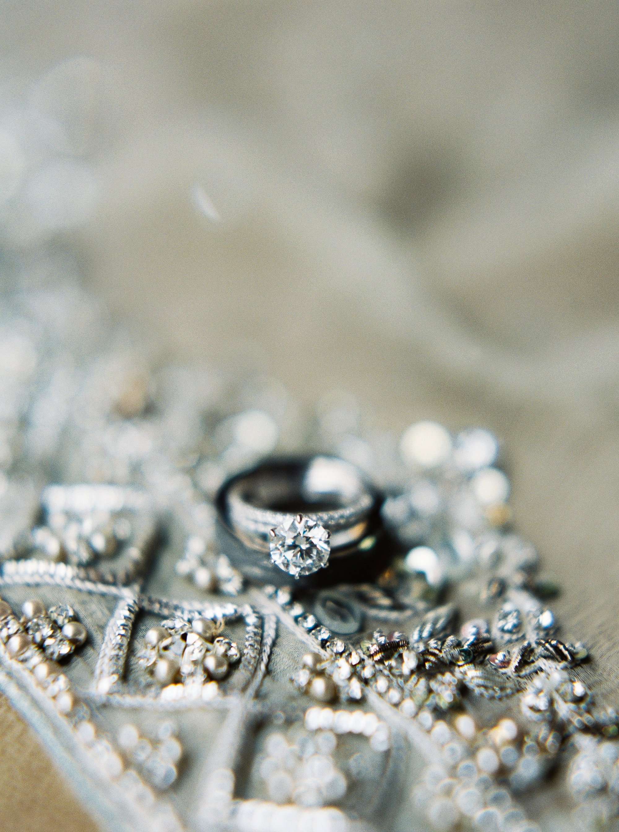 Rings | Details | Colorful & Sweet Brooklyn Wedding | The Green Building