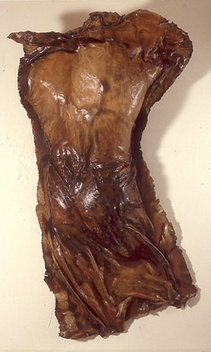 """""""Visible Man,"""" 1995 Resin 67 x 36 x 16 inches"""