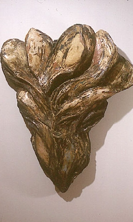 """""""Struggle Forming,"""" 1985-87 Mixed media 57 x 46 x 16 inches"""