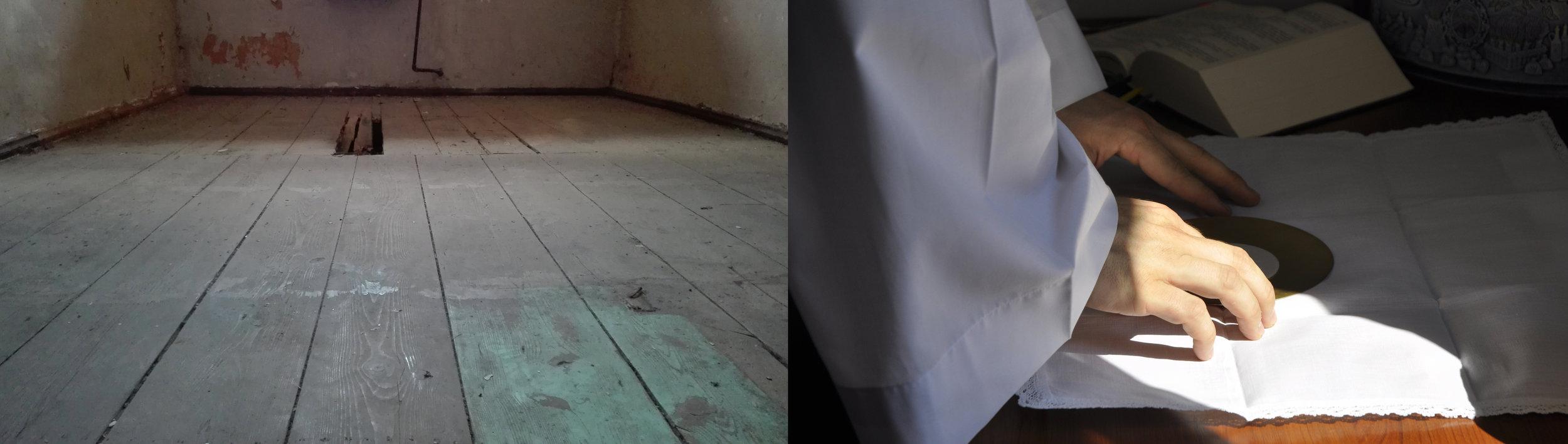 Mateusz Grymek, site-specific installation, 2016