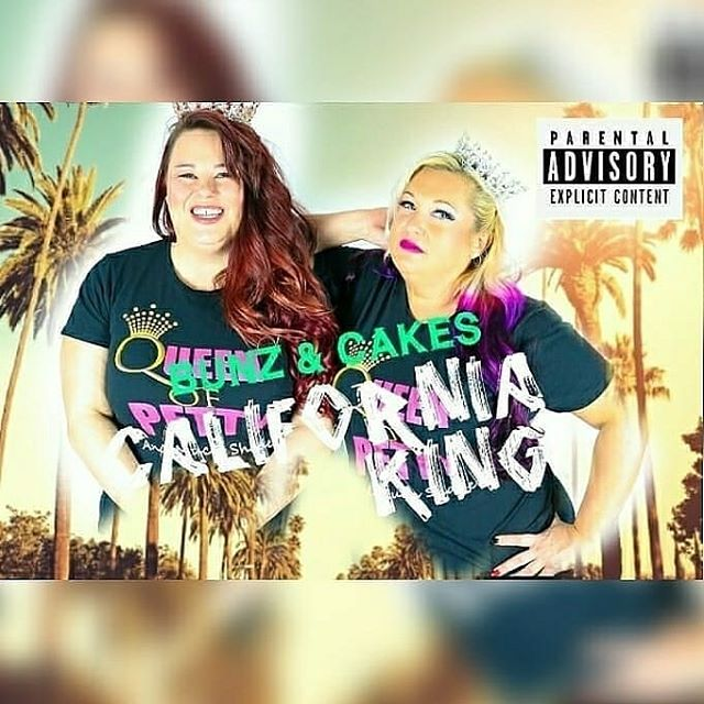 Music Video & Song streaming everywhere!! 2 WEEKS #CALIFORNIAKING .. Bunz & Cakes WE CHEESE & CRACKERS. AND HAM SANDWICHES IDC IDC  #QueensOfPetty