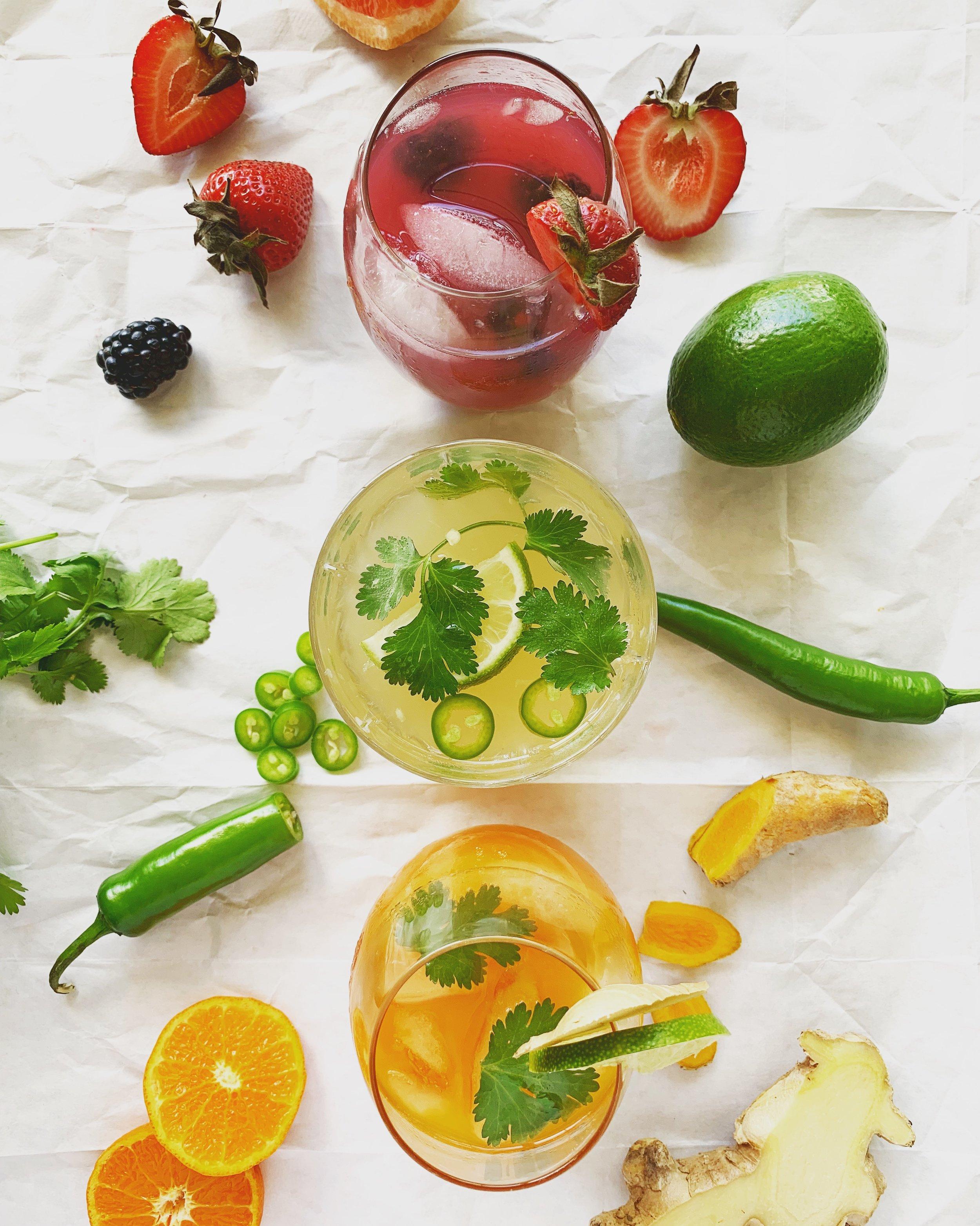Radiant & Abundant Healthy Cinco de Mayo Cocktails