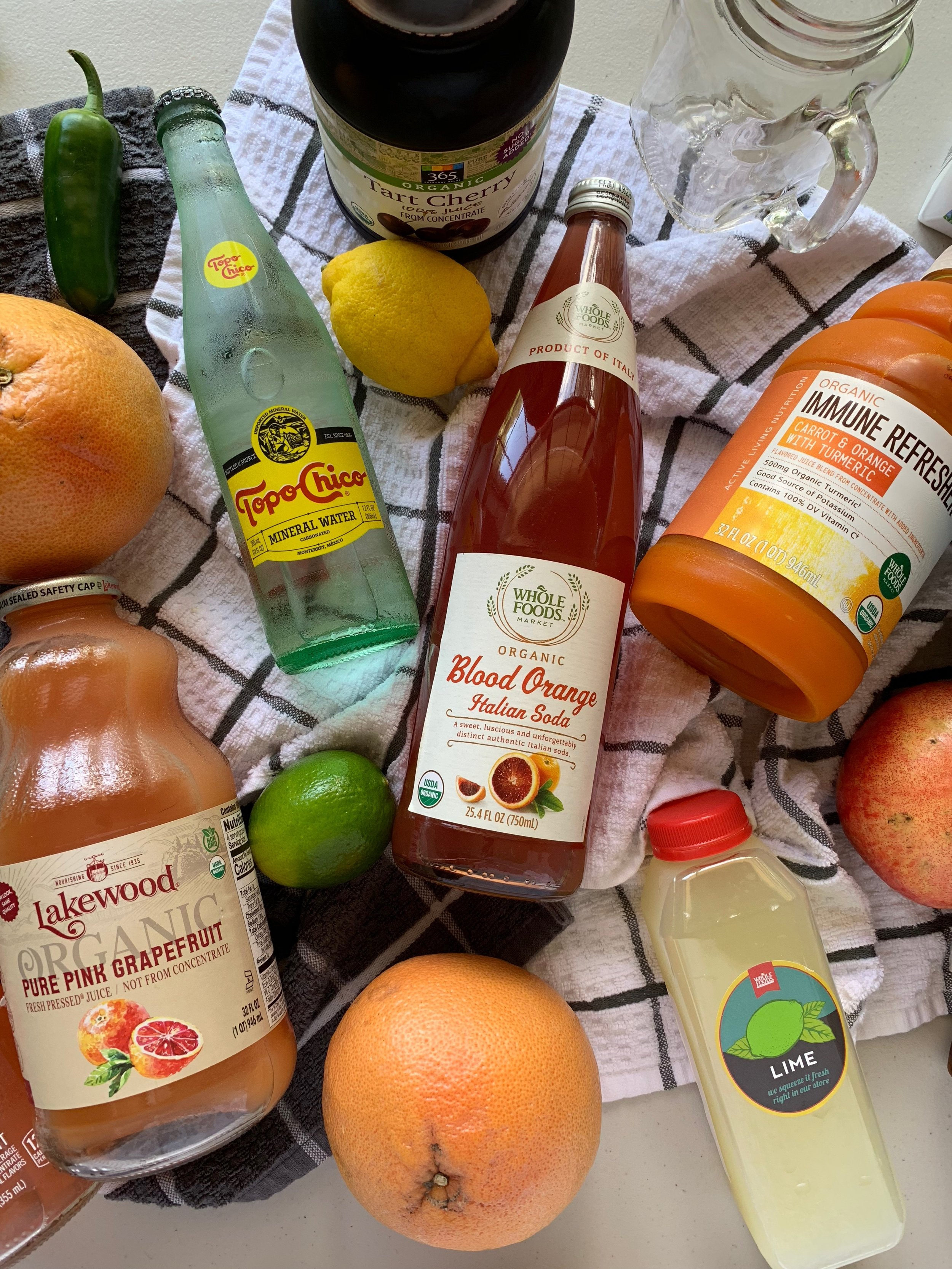 Healthy Cocktail Mixers