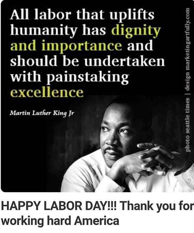 With #appreciation and #respect 🇺🇸#happylaborday!