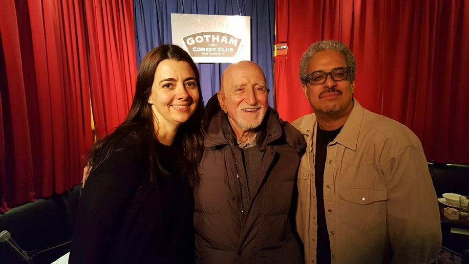 Carmen Lynch and Dominic Chianese