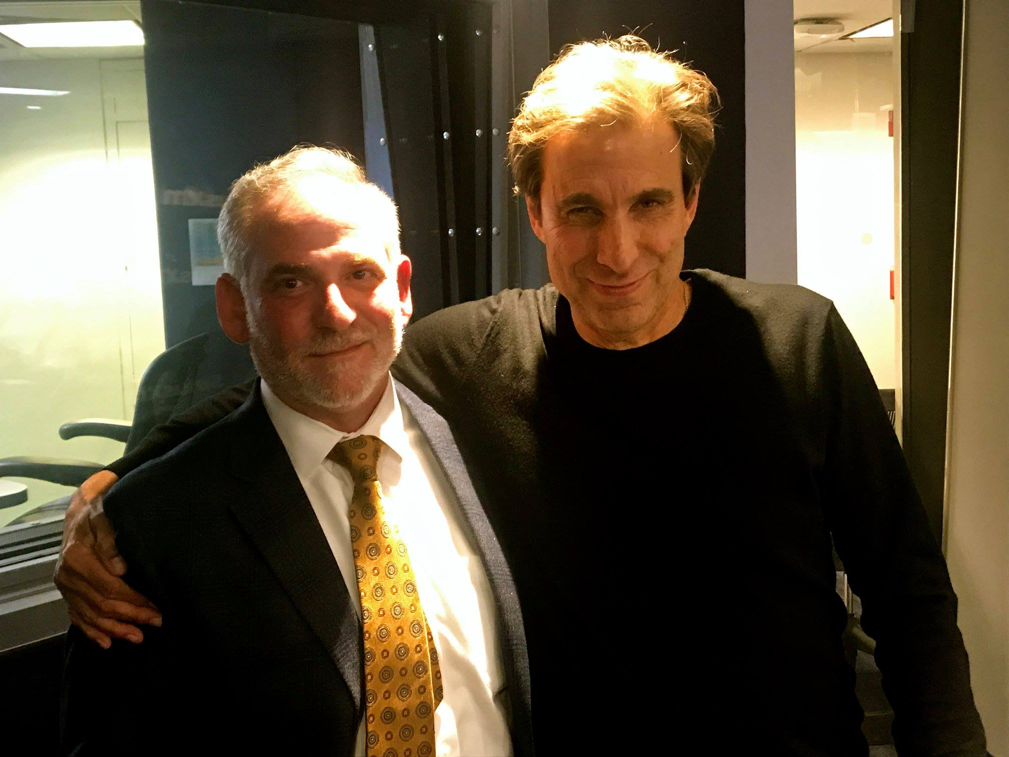 """Jack Gilden and """"Mad Dog"""" Chris Russo"""