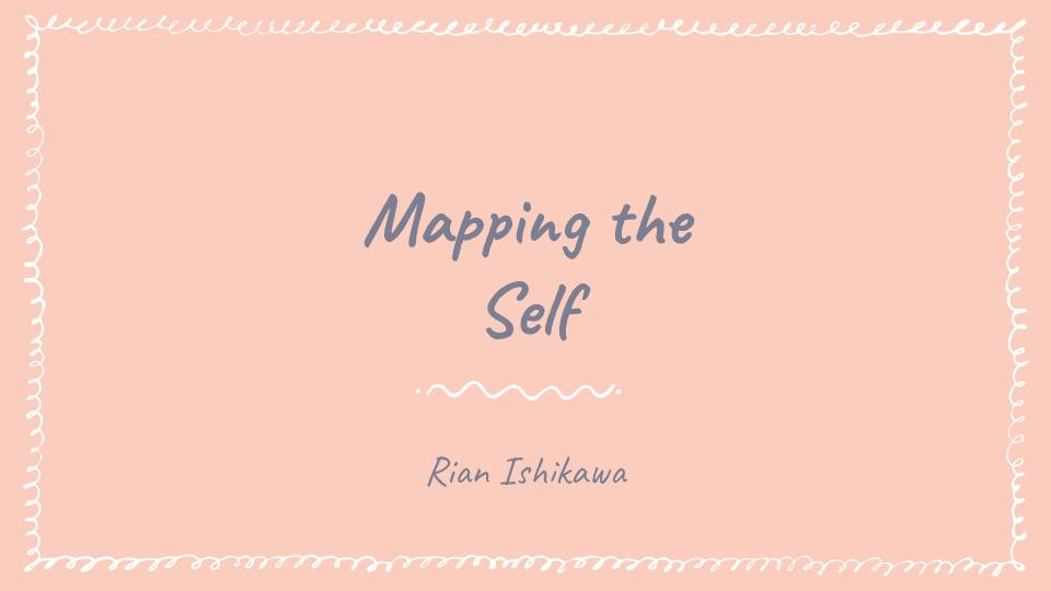 """Mapping the Self  is the first project done in the Core Studio System that we seek better understanding of ourselves through research, interviewing ourselves from outside and come up with three studies:  1. Who you think you are  2.Who they think you are  3.Who you are  Mapping the Self はリサーチやインタビューを通じて自分について学びテクノロジーを使って自分自身の表現をしているプロジェクトです。このプロジェクトでは3つの角度から""""私""""を表現しています:  1. 私の思う私。  2.他の人が思う私。  3.私。"""