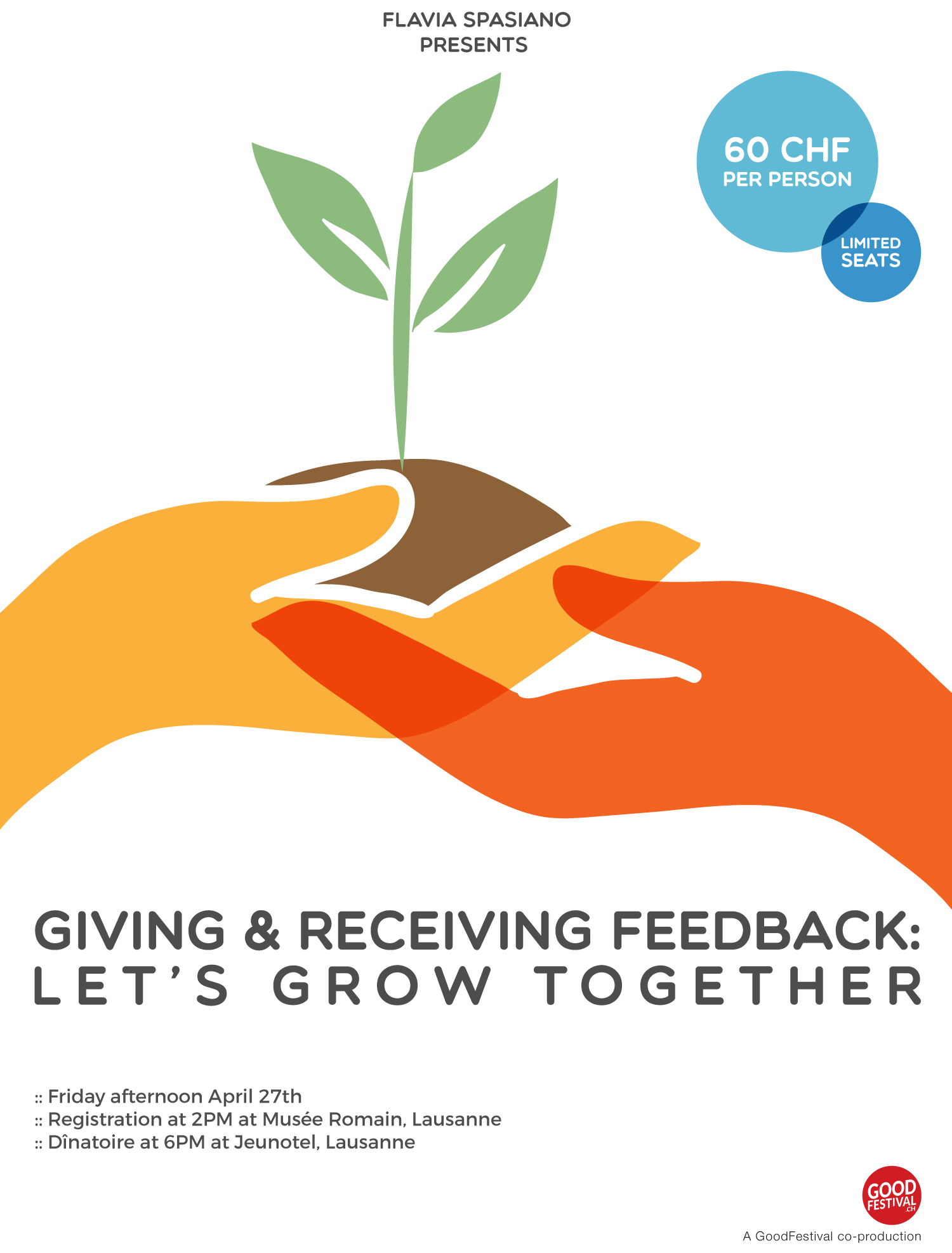 Giving & Receiving Feedback: Let's grow together by Flavia Spasiano