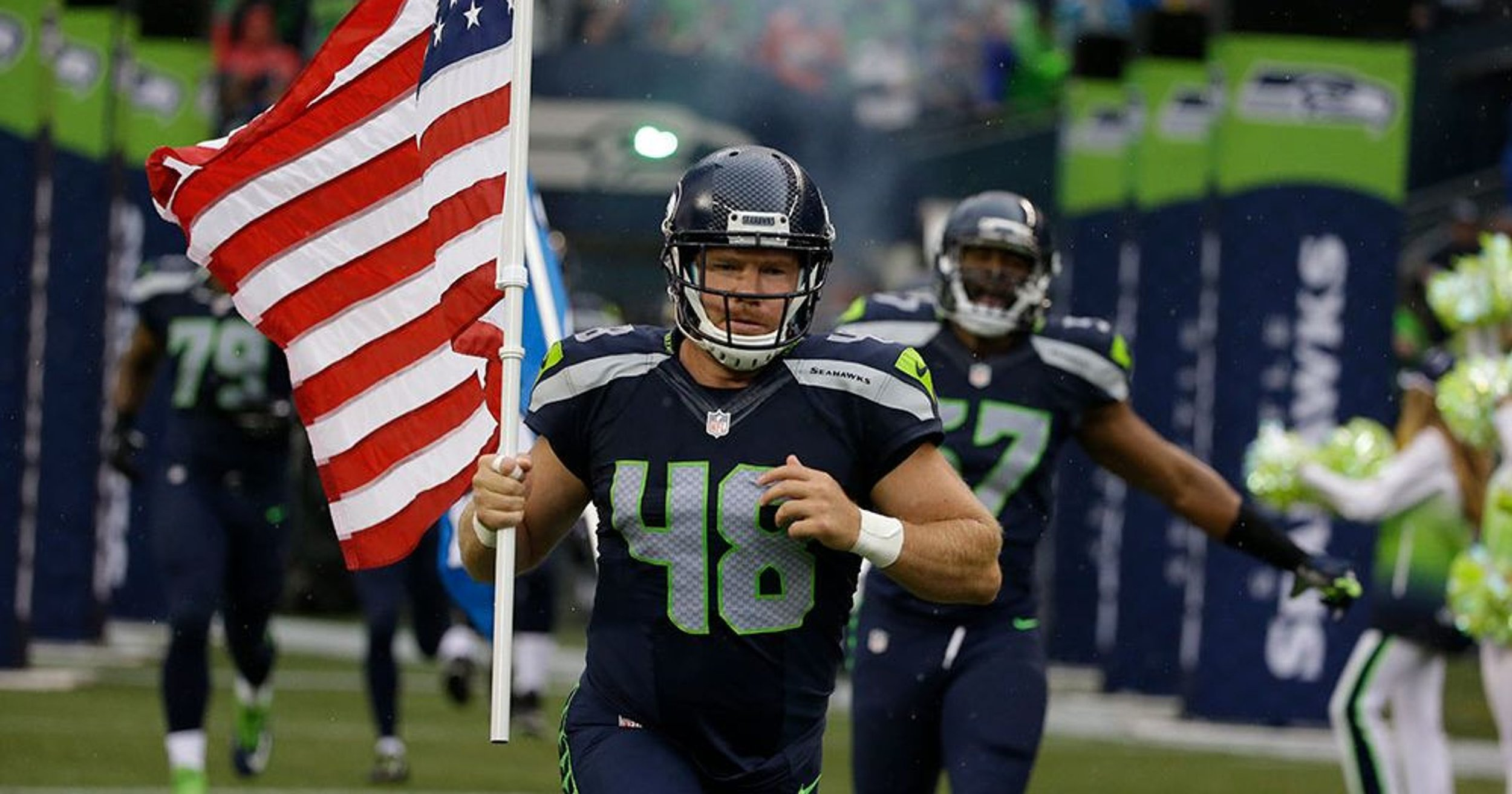 Nate Boyer – former Seattle Seahawk
