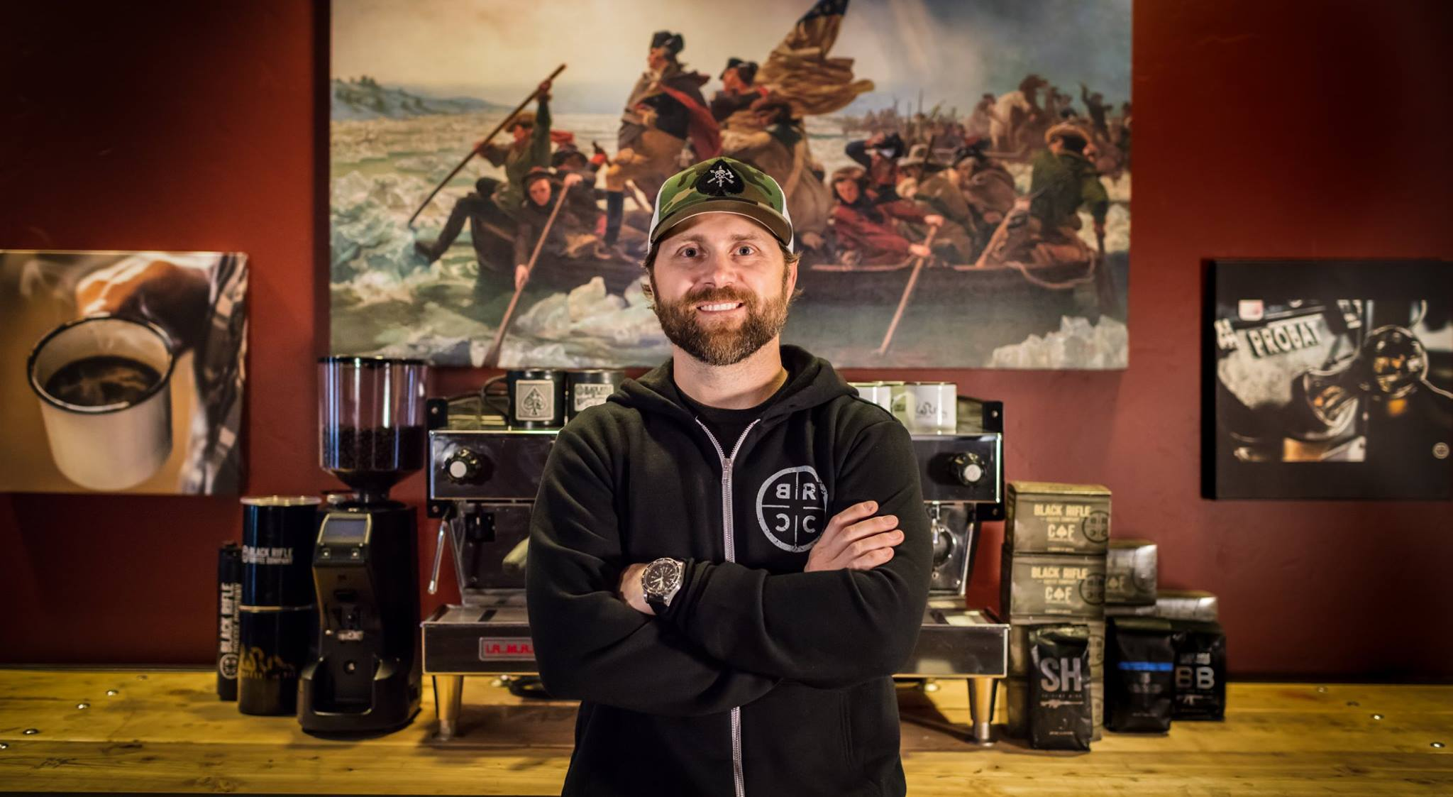Evan Hafer – Founder/CEO, Black Rifle Coffee Company