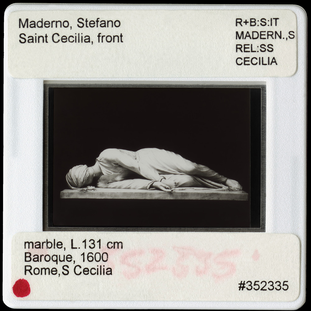 Maderno, Stefano, Saint Cecilia, Front, 2016