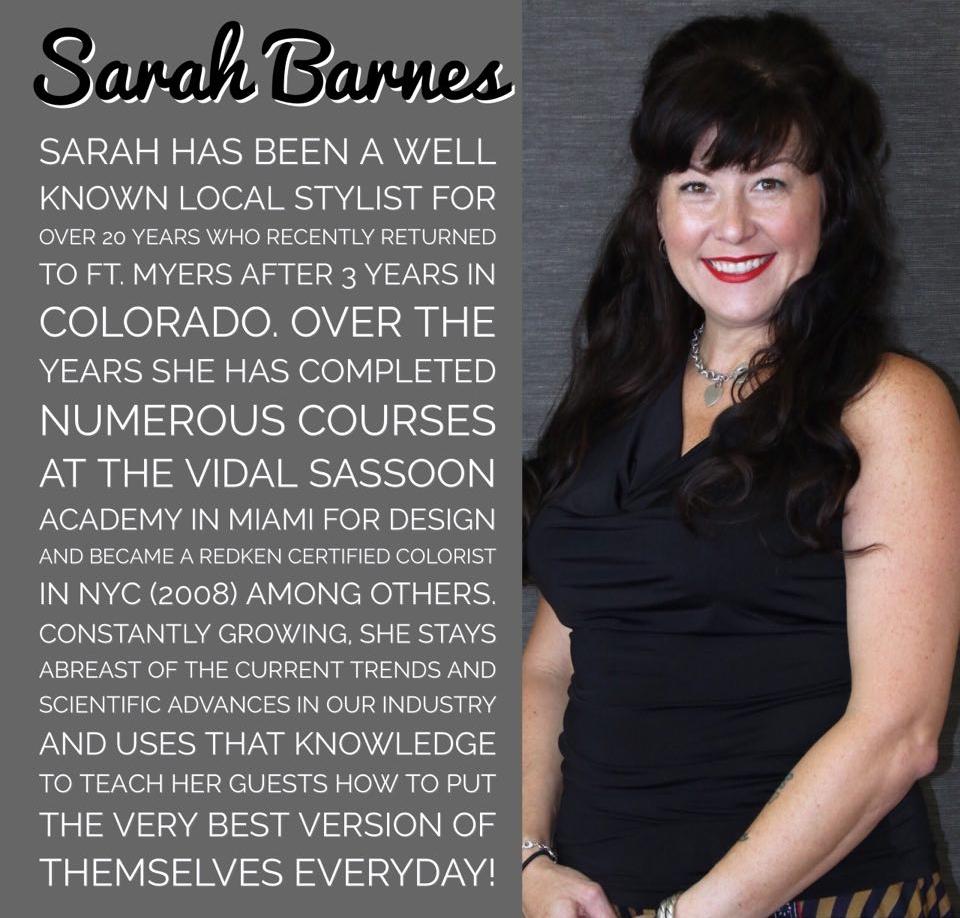 Contact Sarah Directly: 239.339.3580