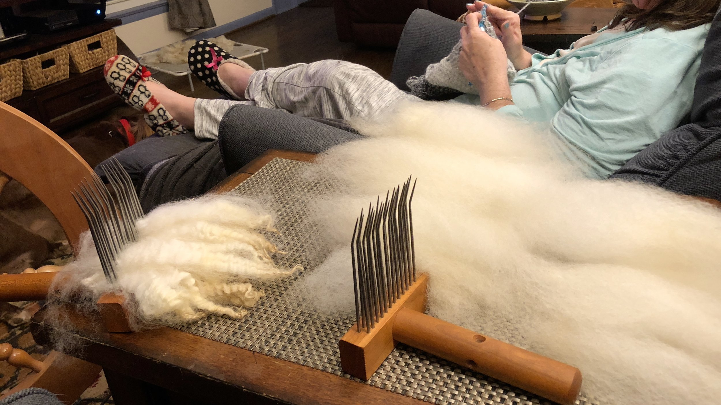 Viking Comb and Roving