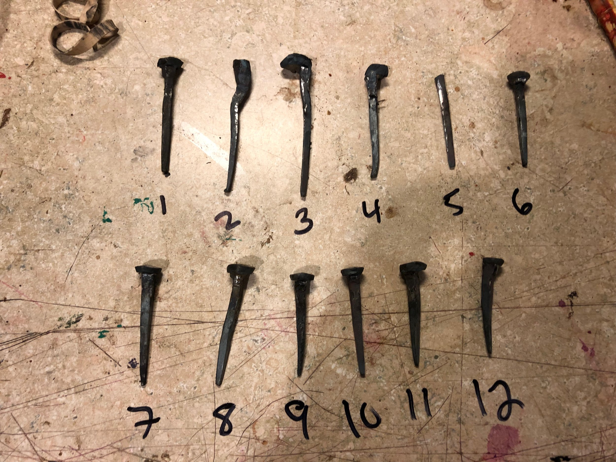Hand Forged Nails
