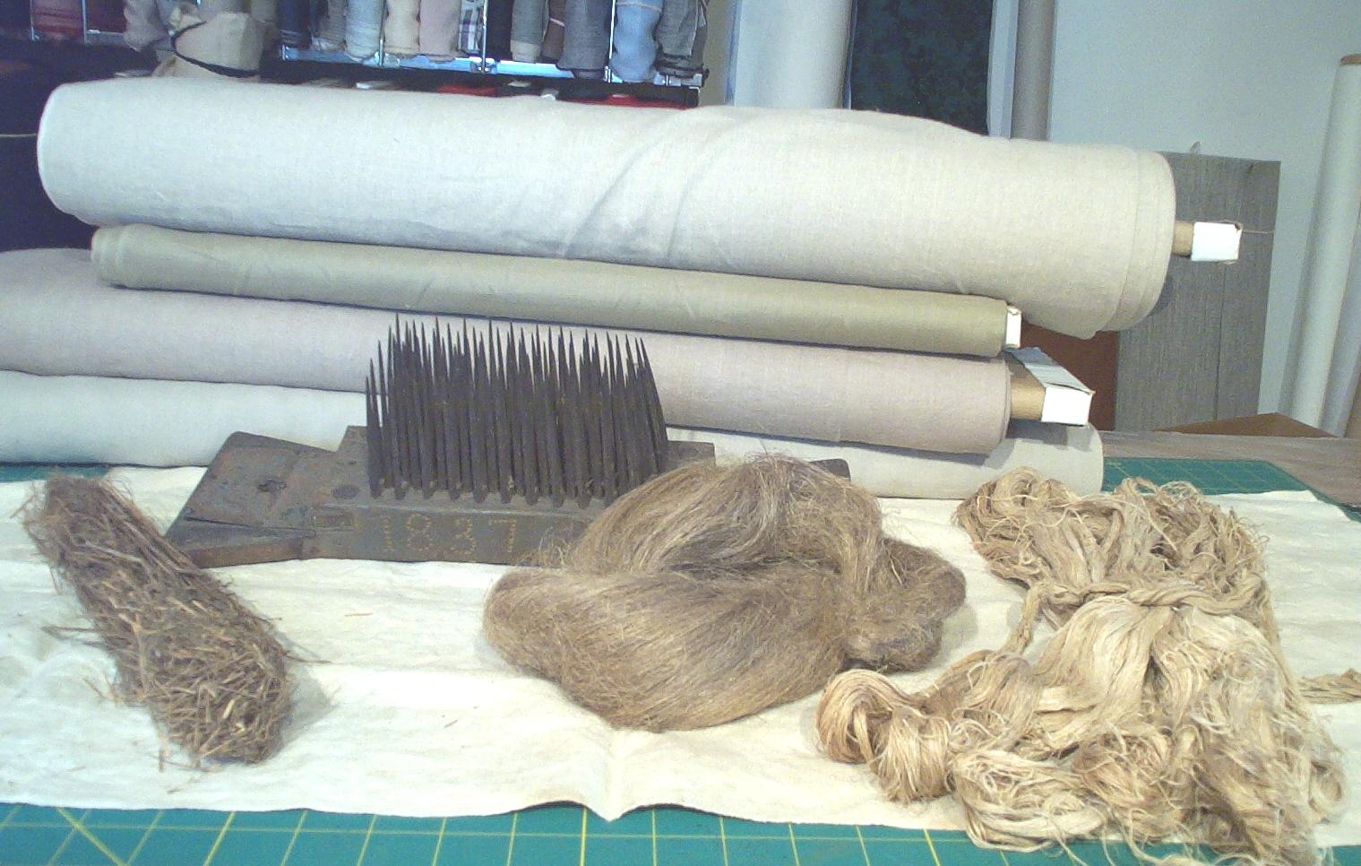 Flax processing