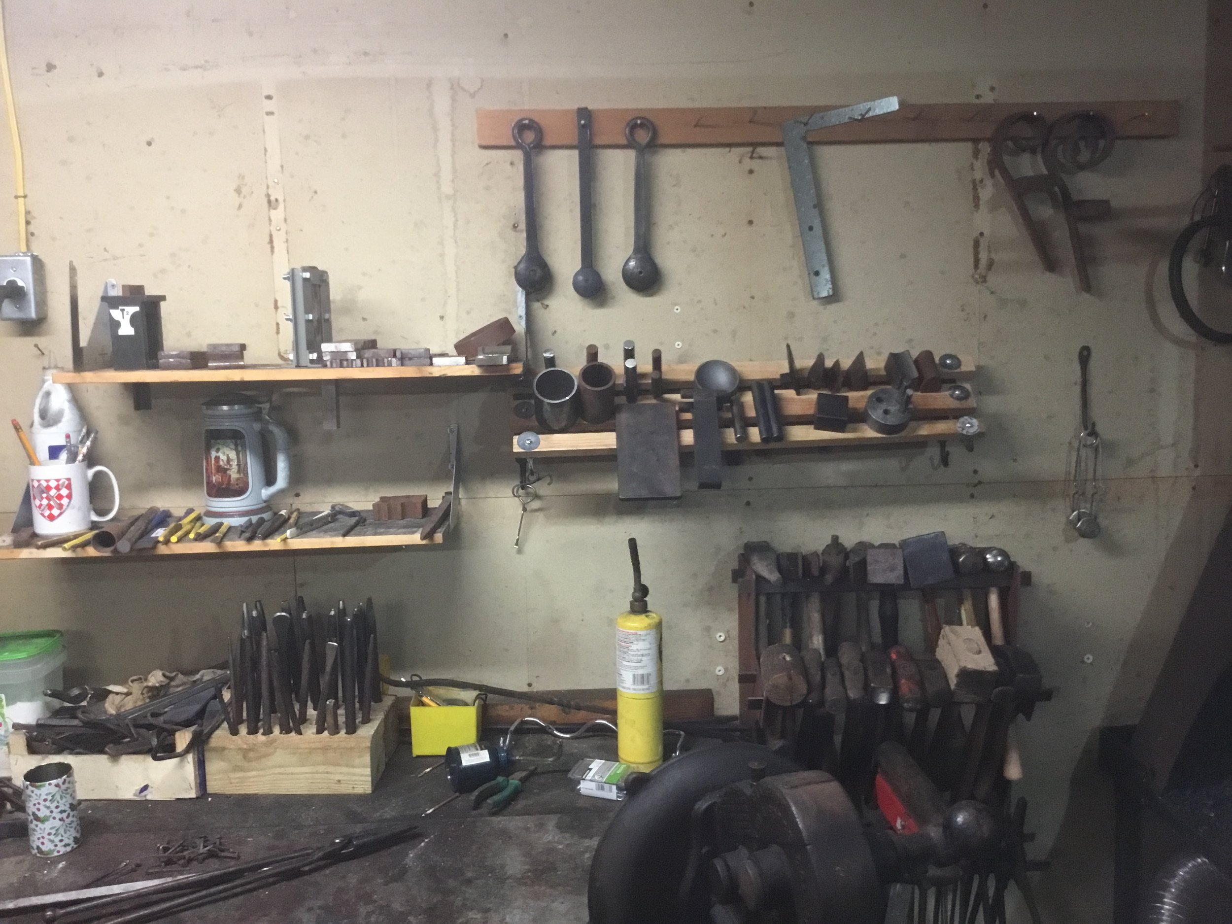 The tools are (Somewhat) organized!