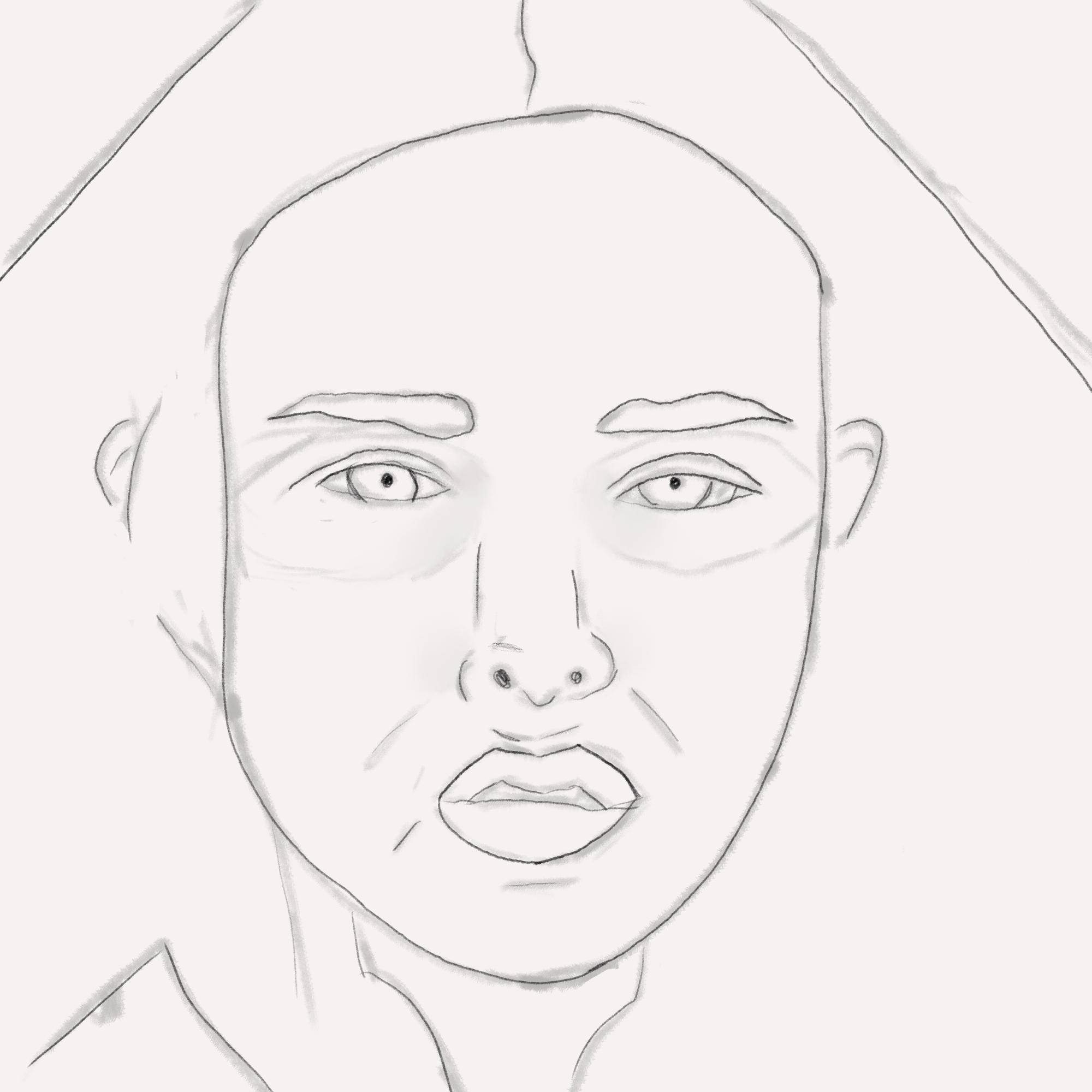 Day 1 - Base Sketch