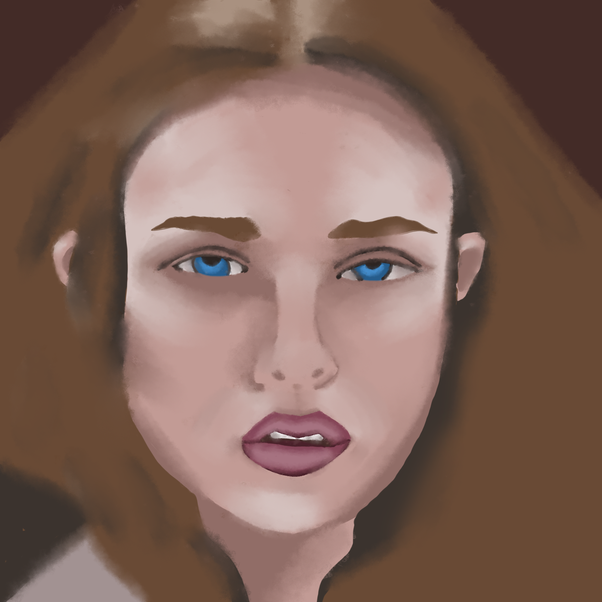 Day 3 - Blending the shapes, beginning to render! I honestly was so shocked here I could have stopped.