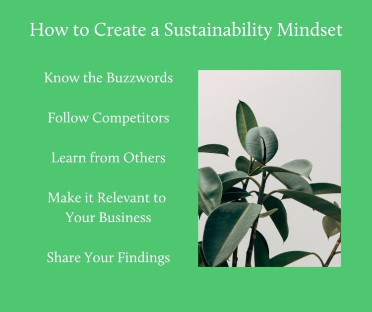 How to Create A Sustainability Mindset