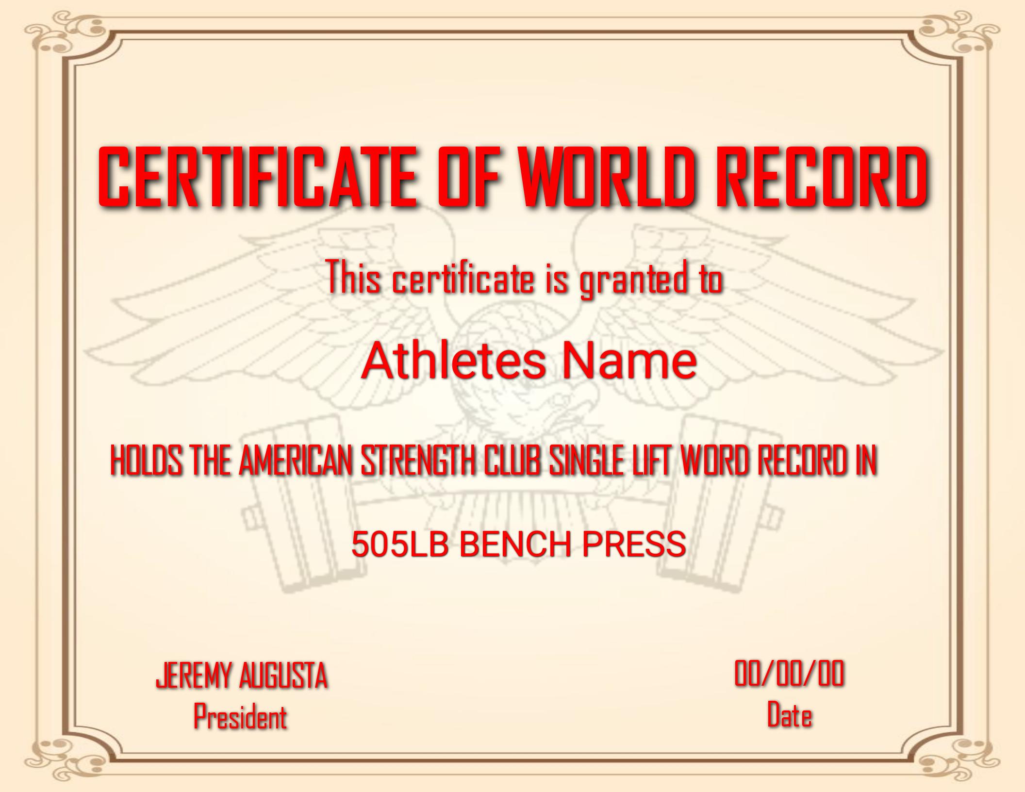 RecordCert