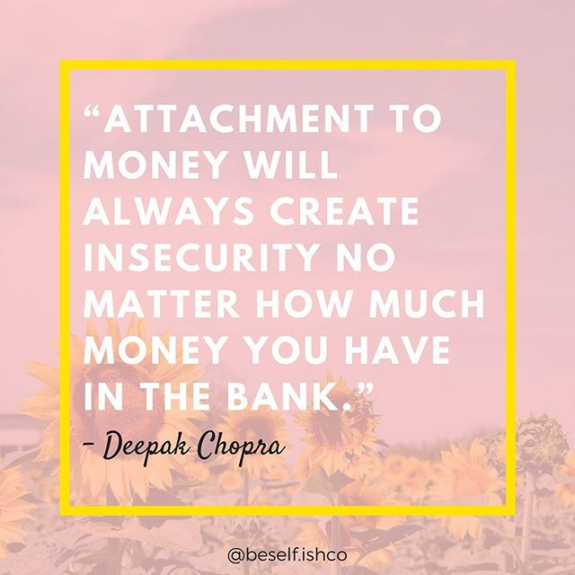 "@deepakchopra has many gems in this easy to read pocket guide. 🌻 Are you reading with us? More details in the #linkinbio #selfISHreads . Money isn't everything but ""It's good to have money and the things that money can buy, but it's good, too, to check up once in a while and make sure you haven't lost the things that money can't buy."" - George Horace Latimer  #itsOKtobeselfish 💕 . . . #SelfISH  #intentional #spiritual #happy #physically #mentally #financial #growth #worklife #ish #worklifebalance #bookclub #success #change #development #beselfish #progress #growth #money #readbooks #books #atlantabookclub"