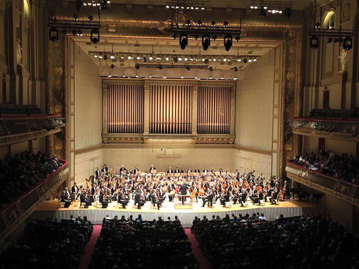 with the Montreal Symphony, 2016