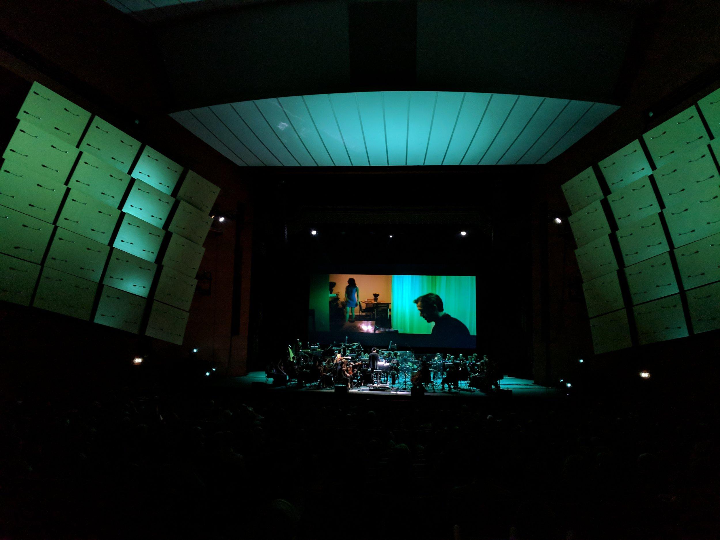 Scene From La La Land Live in Concert, Milan, Italy