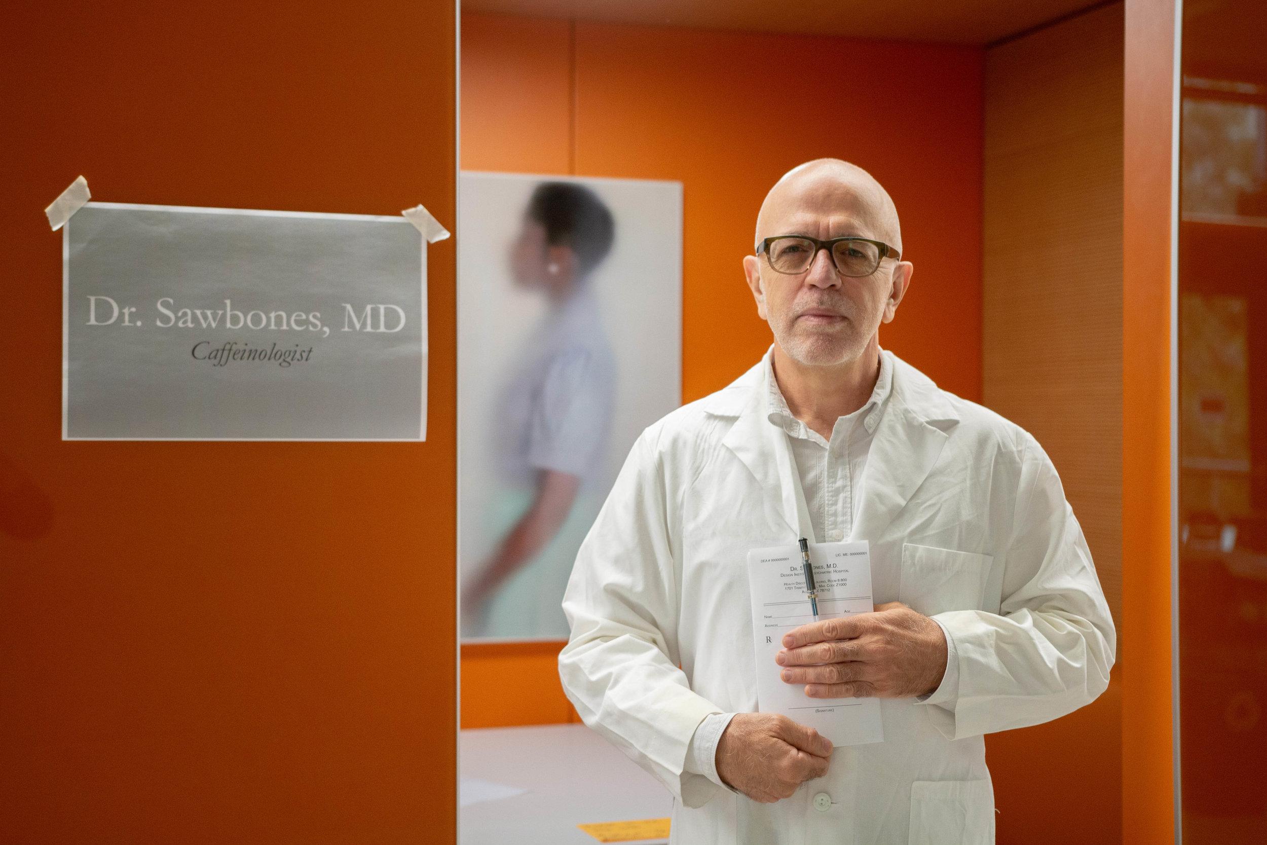 Dr. Sawbones, Caffeinologist (Jose Colucci)