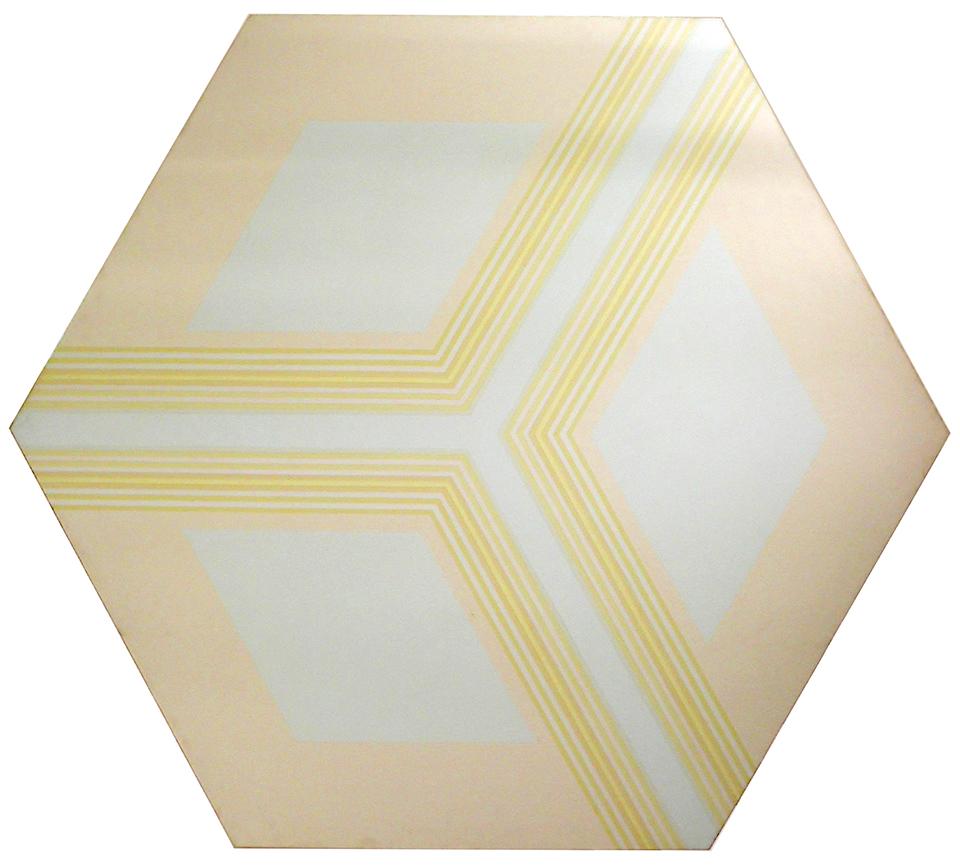 Hexagon Series VI, 1968