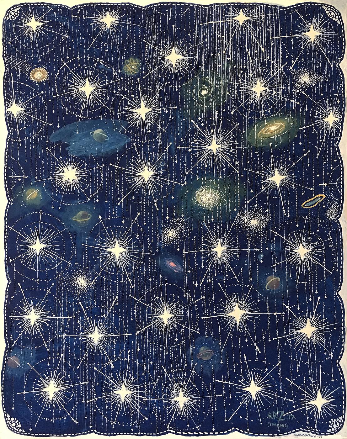 Star Shower (Celestial Series), 2017