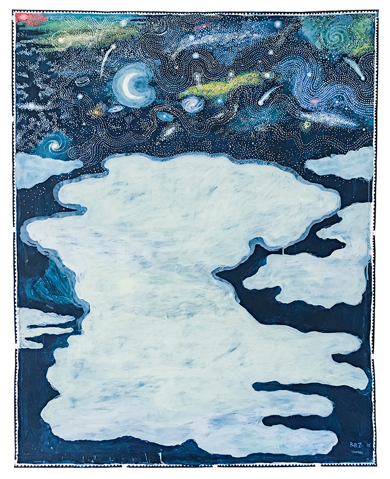 Untitled (Celestial Series VI), 2016