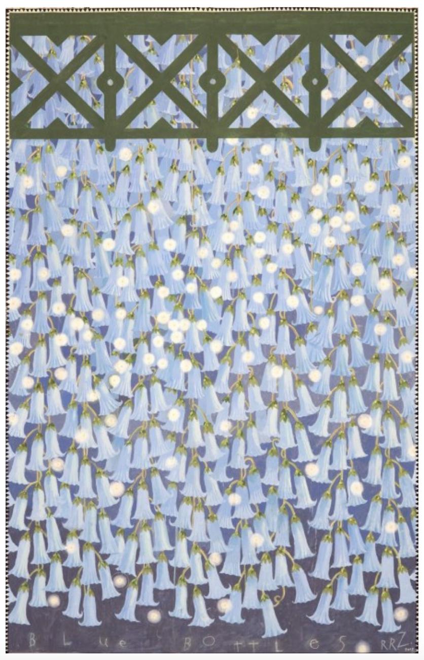 Hanging Gardens Series (Blue Bottles), 2011-12