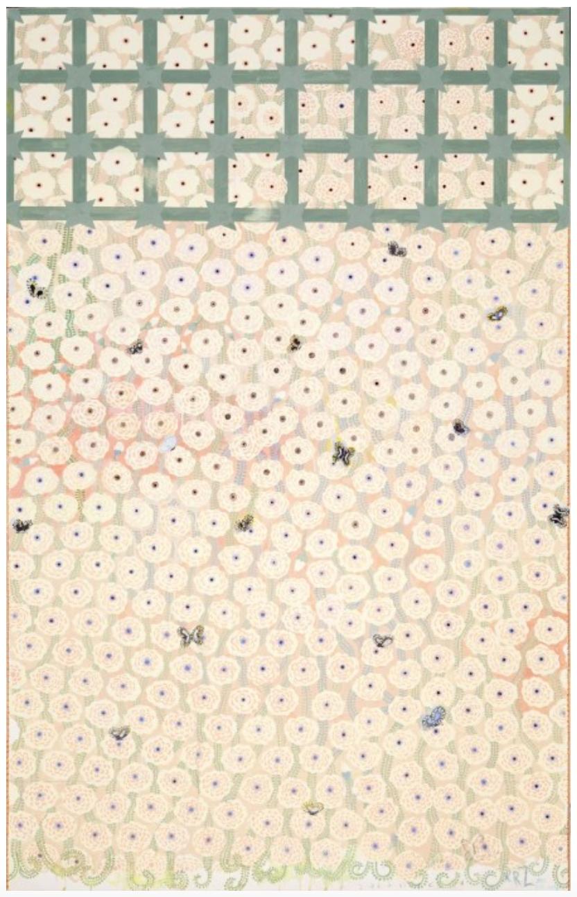 Hanging Gardens Series (Blush), 2011-12