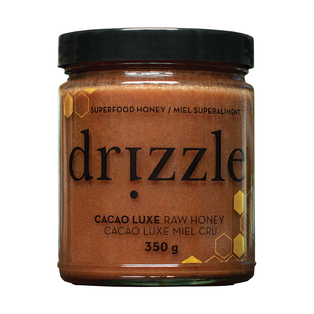 Drizzle Cacao Luxe Raw Honey -Mood & Energy Boost Blend - 15.95CDN