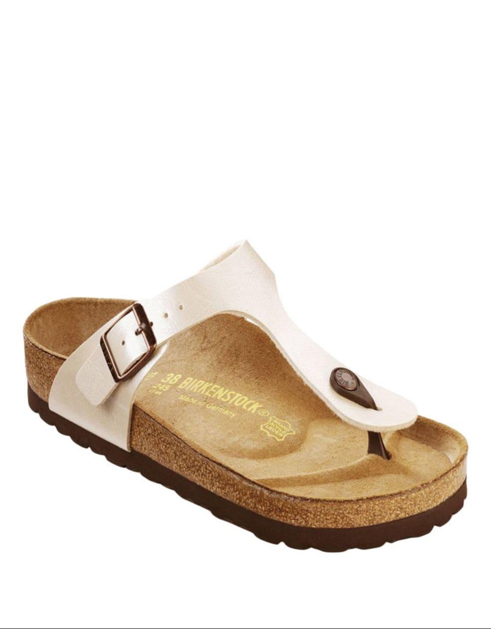 BIRKENSTOCK. Womens Gizeh Thong Sandals .
