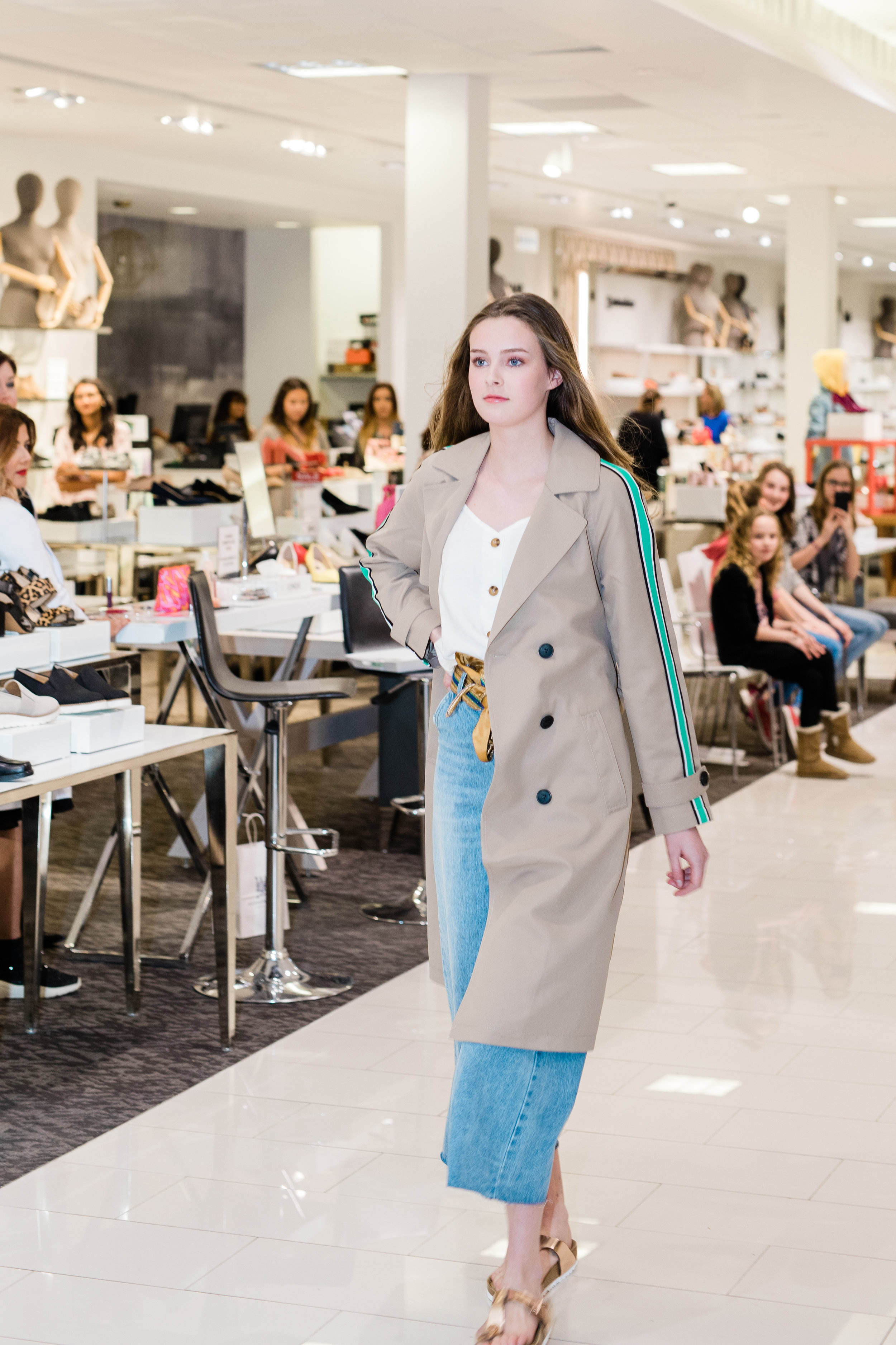 No.19 Trench Dressing - Trench coats are all the rage. Every designer is making one, they come in many colours and can take you from Day to night, Vero Moda paired with Birkenstock's, which are also a great staple in your Spring to Summer closet.