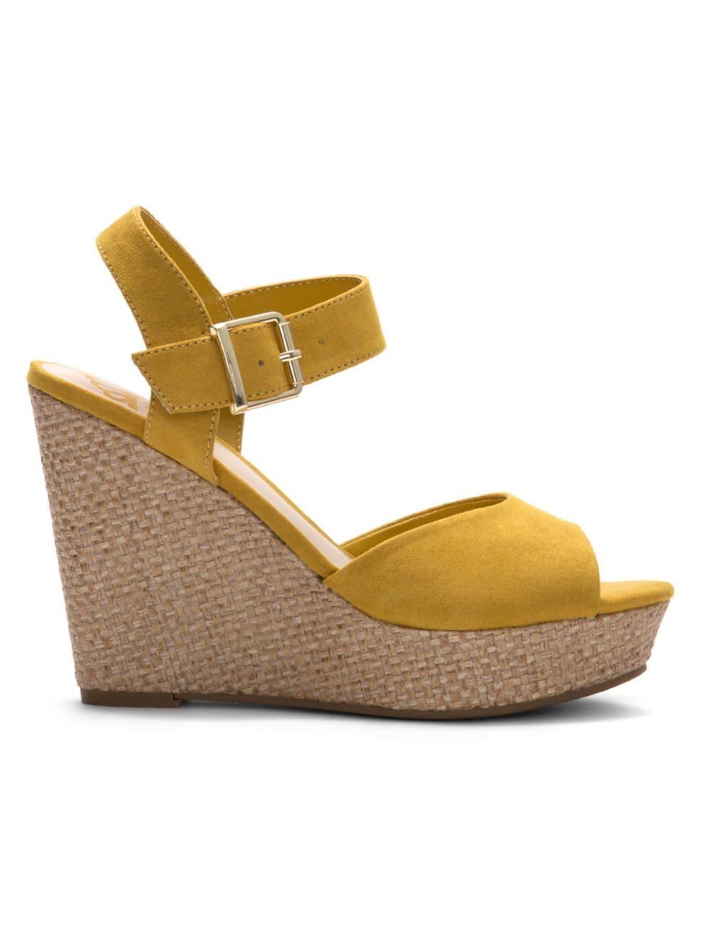 FERGALICIOUS. Viola Wedge Sandals.