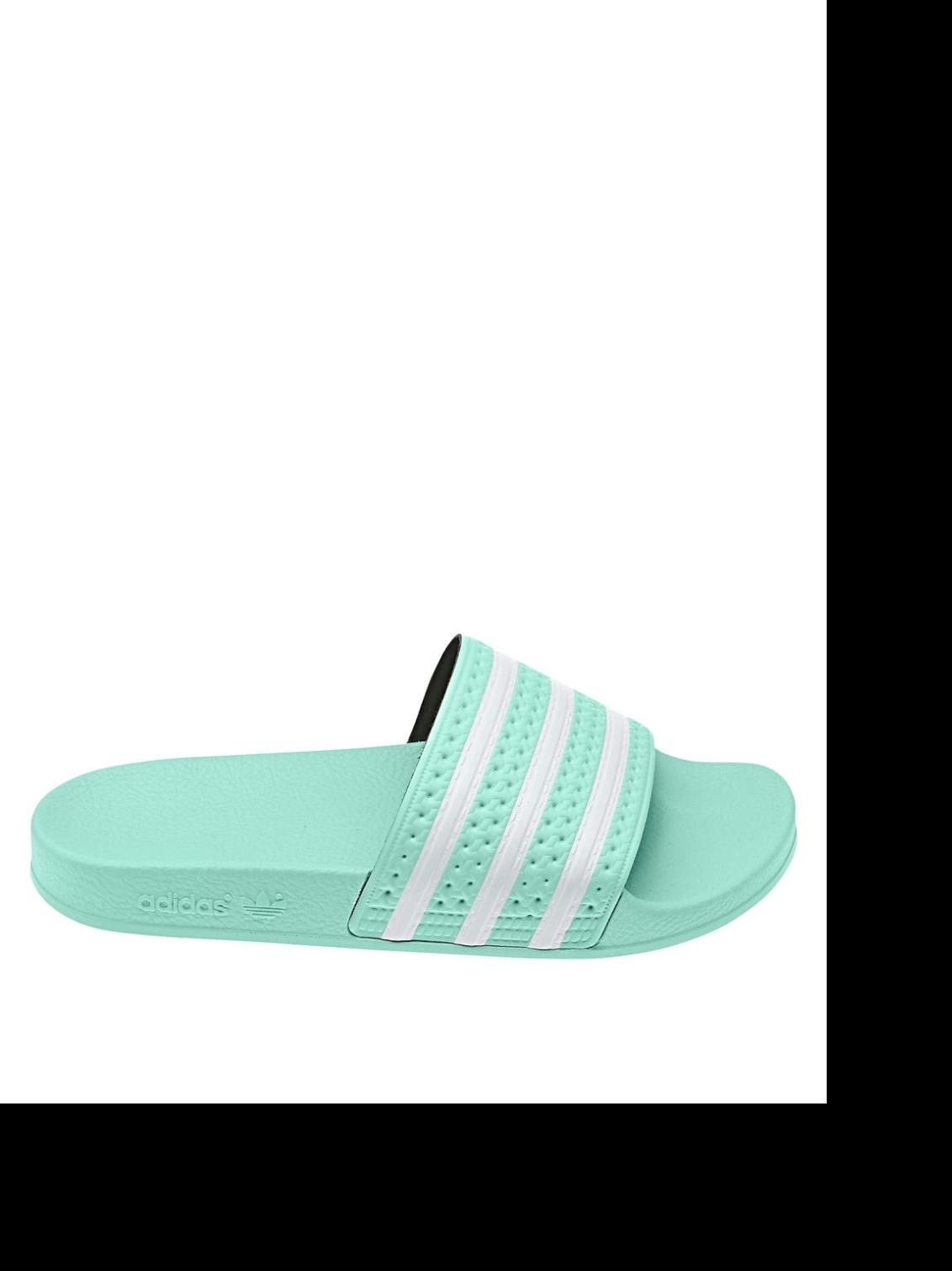 ADIDAS. Classic Striped Slides