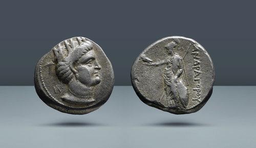 Partya, Andragoras.  Yargıç: Hekatompylos (?).  c.  MÖ 246 / 5-239 / 8
